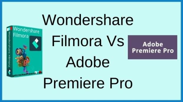 Wondershare Filmora Vs Adobe Premiere Pro